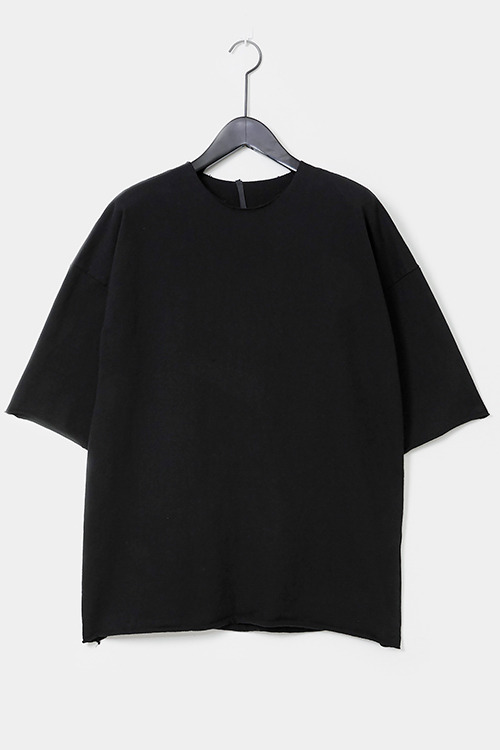 Raw-Edge Short Sleeve T-shirt