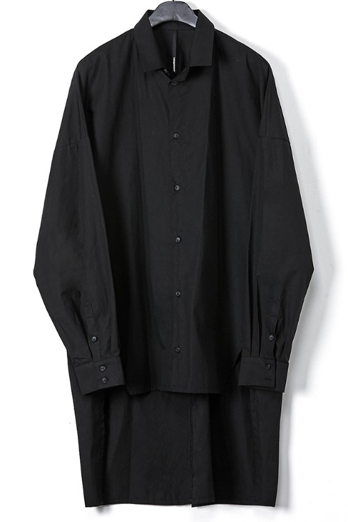 Oversized Front Slit Shirt