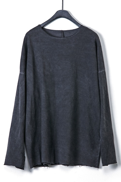 Oversized Raw-Edge T-shirt